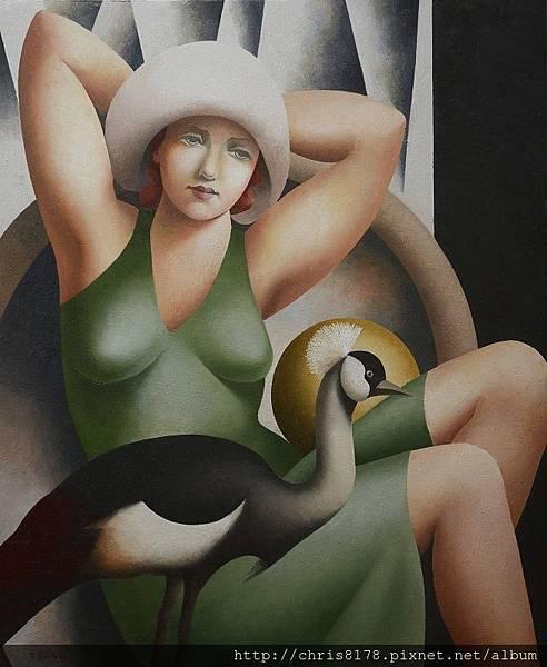 11460_Fabio Hurtado_20181146008_鶴 II La grulla II_油畫 oil on canvas_73x92cm_sm_2018.jpg