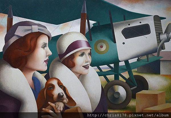 11460_Fabio Hurtado_20181146006_飛行場的回憶 Memorias de un aeródromo_油畫 oil on canvas_116x81cm_sm_2017.jpg