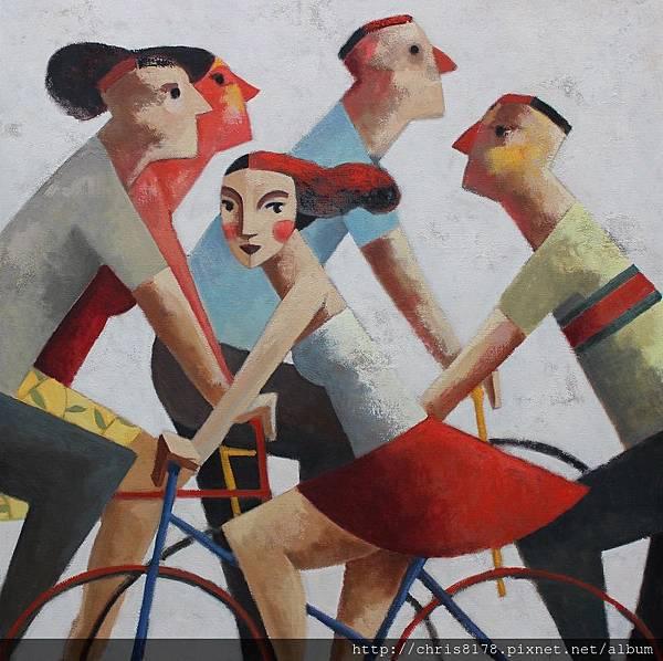 11457_Didier Lourenço_ 20181145705_一起來 Let´s go_油畫 oil on canvas_100x100cm_sm_2018.JPG