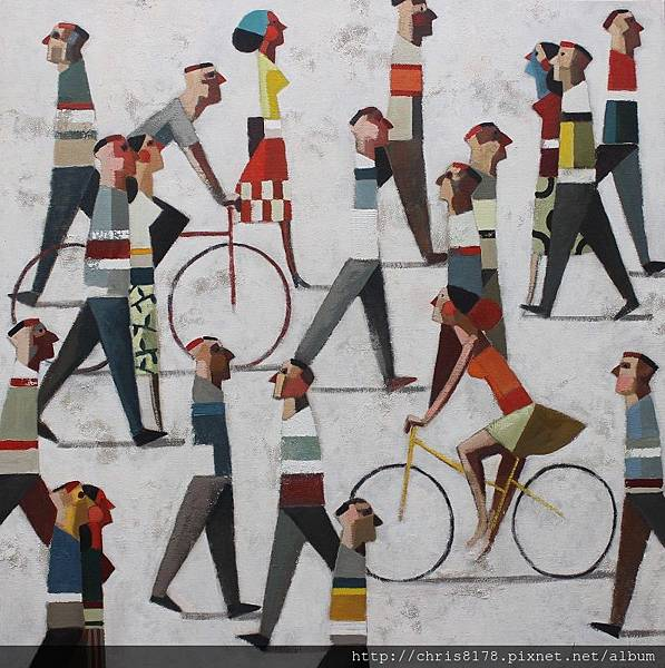 11457_Didier Lourenço_ 20181145708_散步 Paseo_油畫 oil on canvas_100x100cm_sm_2017.JPG