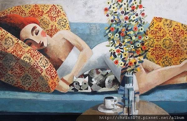 11457_Didier Lourenço_ 20181145707_Mira_油畫 oil on canvas_92x60cm_sm_2018.JPG