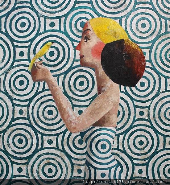 11457_Didier Lourenço_ 20181145711_小鳥 The bird_油畫 oil on canvas_110x120cm_sm_2017.JPG