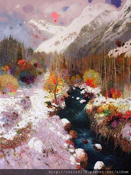 11471_Pedro Roldan_20181147115_維耶拉的雪景 Viella_油畫 oil on panel_66 x 87cm_sm_2018.jpg