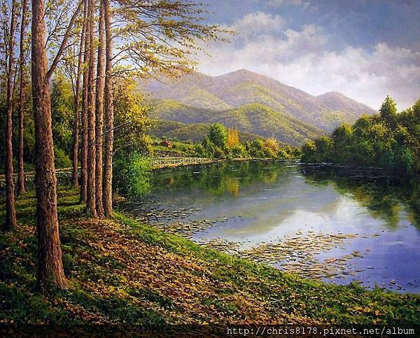 11468_Joan Coloma_20181146805_瓦德莫里歐的水庫 Embalse de Valdemurio_油畫 oil on canvas_100x81cm_sm_2017.jpg