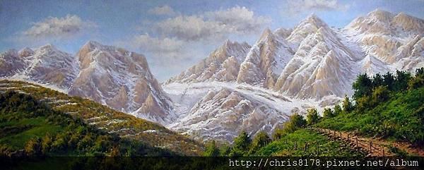 11468_Joan Coloma_20181146808_歐羅巴山 Los Picos de Europa_油畫 oil on canvas_100x40cm_sm_2017.jpg