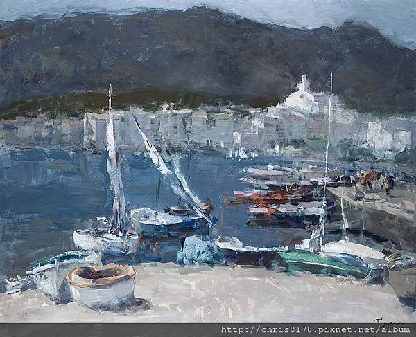 11467_Josep Cruañas_20181146701_卡達克斯 Cadaques_油畫 oil on canvas_ 100x81cm_sm_2016.jpg