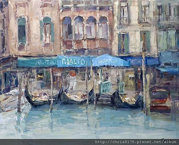 11467_Josep Cruañas_20181146708_威尼斯的里亞托 Rialto_油畫 oil on canvas_100x81cm_sm_2017.jpg