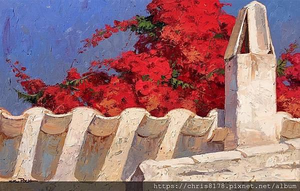 2019-11591-03_基庫·波克 Kiku Poch_煙囪 Chimenea_油畫 oil on canvas_100x65cm_40M_sm_2018.jpg