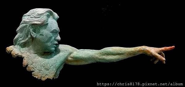 2019-11466-07_荷西·曼努埃爾·貝爾蒙提 JoséManuel Belmonte_勇往直前 Tu_#1共50版 #1 of 50 editions_銅雕bronze_30x10x40cm_sm_2018.jpg