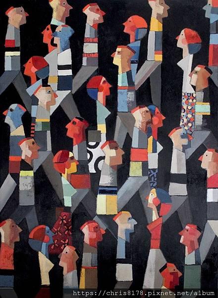 2019-11457-06_狄迪耶·魯倫索 Didier Lourenço_夜晚 Night_油畫 oil on canvas_73x100cm_40P_sm_2018.JPG