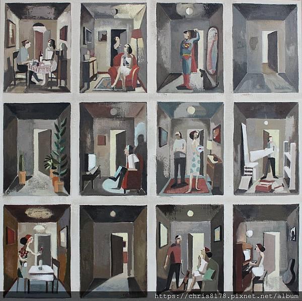 2019-11457-09_狄迪耶·魯倫索 Didier Lourenço_引以為傲 Proud_油畫 oil on canvas_100x100cm_50正方_sm_2016.JPG