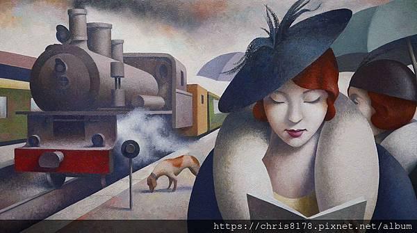 2019-11460-05_法比奧·歐羅他多 Fabio Hurtado_上海仕女 Shanghai lady_油畫 oil on canvas_81x46cm_25M_sm_2018.jpg