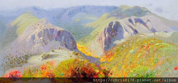2019-11471-05_佩德羅·羅爾丹 Pedro Roldan_晨光 (萊昂山脈)_Manana de luz,Montes de Leon_油畫 oil on panel_41x21cm_6M_sm_2018.jpg