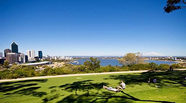 King's Park俯瞰Perth City