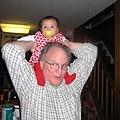 Look!!I am taller than grandpa