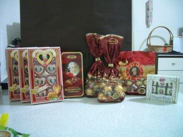 莫札特巧克力大集合