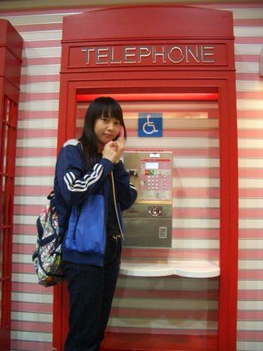 Kitty公共電話