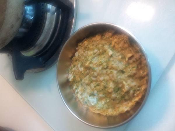 南瓜雞肉花椰菜燉飯