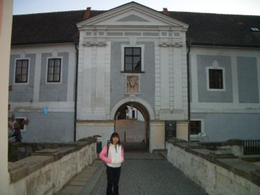英吉夫也有一個小城堡