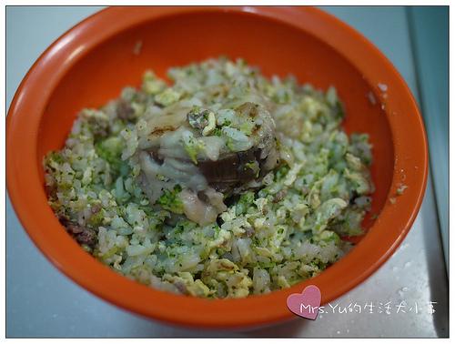 牛肉炒飯+煎茄盒