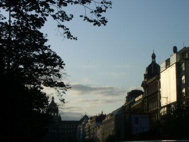 布拉格的早晨,今天超~~冷~~