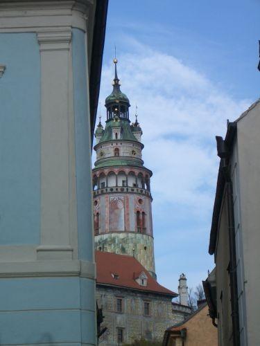 最有名的地標--彩繪塔