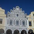 帖契最特別的房子--雙層黑泥雕刻