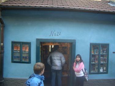 No.22卡夫卡住過的小屋