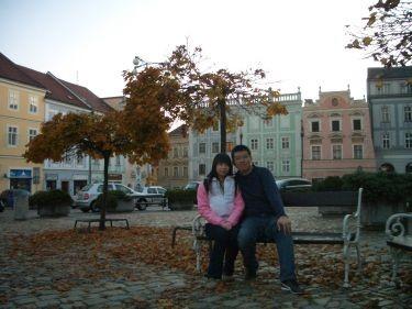 英吉夫的廣場也很可愛