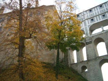城堡的空中走廊