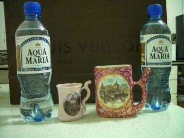 溫泉杯和溫泉水