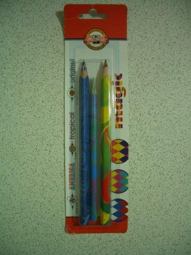 二大一小的七彩筆