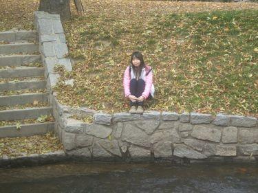 城堡區的小河流