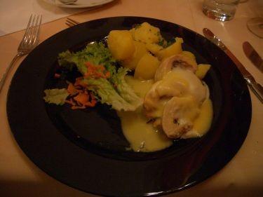主餐--雞肉捲