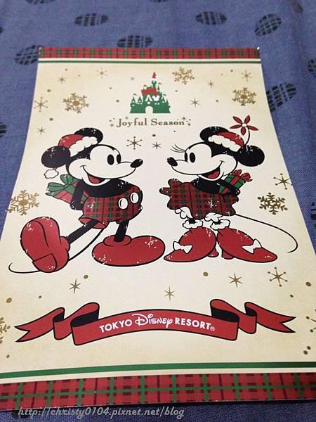 東京海洋迪士尼明信片