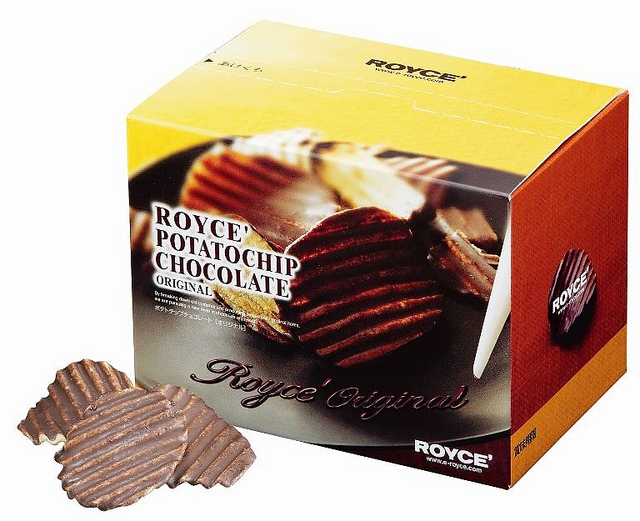 Royce 巧克力洋芋片