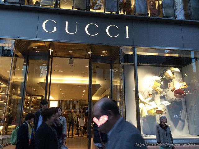 東京銀座-Gucci cafe