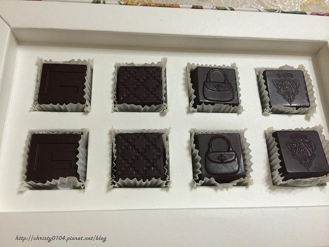 東京銀座-Gucci cafe 巧克力
