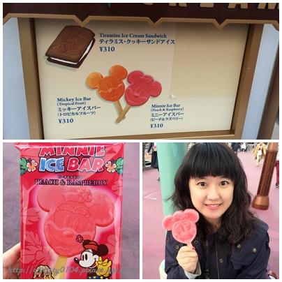 東京海洋迪士尼-米奇米妮冰棒