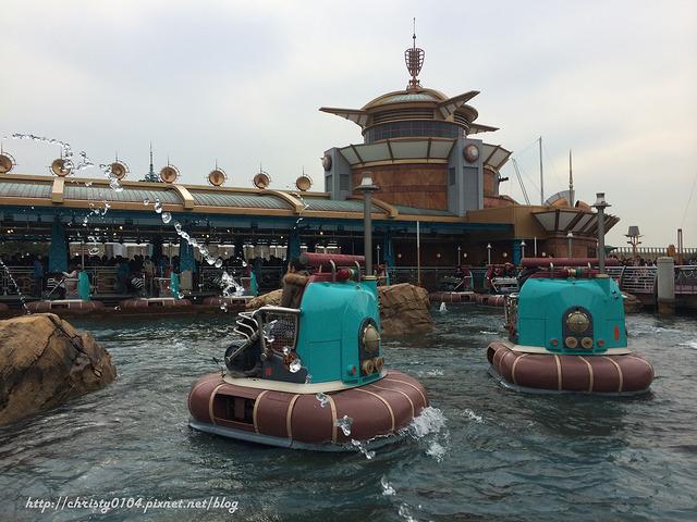 東京海洋迪士尼-水上逗趣船