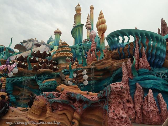 東京海洋迪士尼-美人魚礁湖