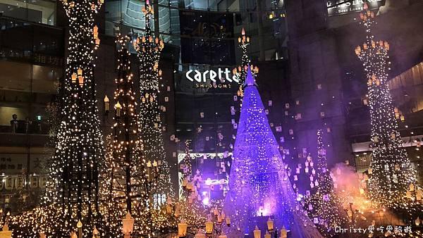 2018汐留Caretta聖誕燈飾3