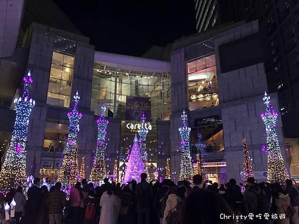 2018汐留Caretta聖誕燈飾4