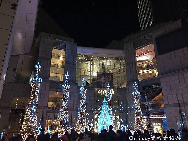 2018汐留Caretta聖誕燈飾6