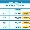 Skyliner官網價格.JPG