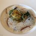 侯布雄-菠菜蘑菇與半熟蛋義大利餃