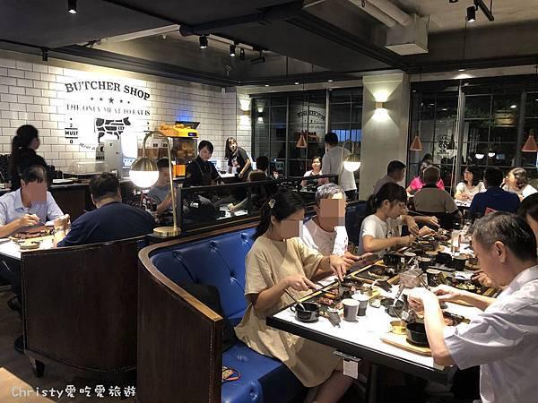 【台北。南京三民站】TGB很牛炭燒牛排 東興店 1