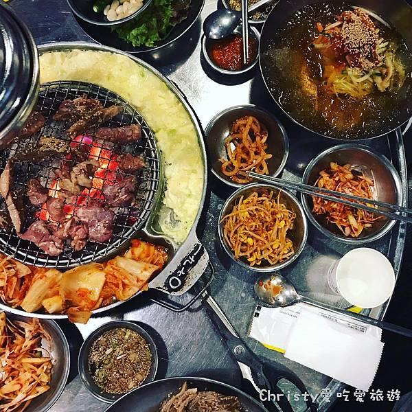 【韓國。釜山。海雲台站】伍班長烤肉 0