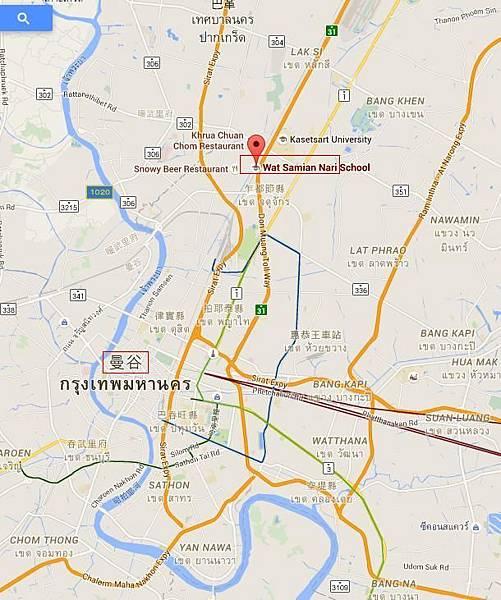 秘書佛寺地圖