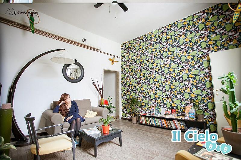 Florence Il Cielo B&B living room1